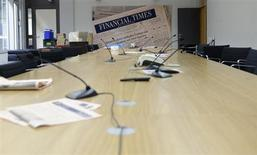 """Le site internet du Financial Times britannique a été piraté vendredi et l'opération a été revendiquée au nom de l'""""Armée électronique syrienne"""", qui dit agir pour le compte du président Bachar al Assad. /Photo d'archives/REUTERS/Fabian Bimmer"""