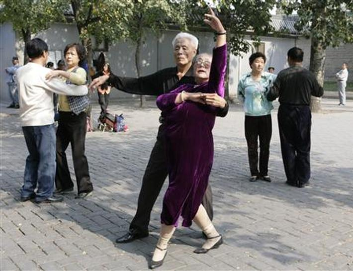 81 year old chinese granny - 3 10