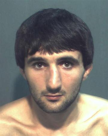 Ibragim Todashev is pictured in this undated booking photo courtesy of the Orange County Corrections Department. An FBI agent shot and killed a Florida man with suspected links to the Boston Marathon bombings early on May 22, 2013, NBC News reported. The Orlando Sentinel said a friend had identified the dead man as 27-year-old Ibragim Todashev of Orlando. REUTERS/Orange County Corrections Department/Handout