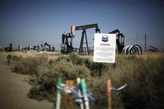 Pump jacks are seen in the Midway Sunset oilfield, California, April 29, 2013. REUTERS/Lucy Nicholson