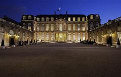 General view of the Elysee Palace in Paris, March 5, 2008. REUTERS/Jean-Paul Pelissier