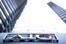 Le titre AIG pourrait réagir mardi à l'ouverture de Wall Street. Le groupe va réintégrer l'indice Standard & Poor's 500 à la clôture jeudi, cinq ans après les graves difficultés financières qui l'en avaient fait sortir. /Photo d'archives/REUTERS/Eric Thayer