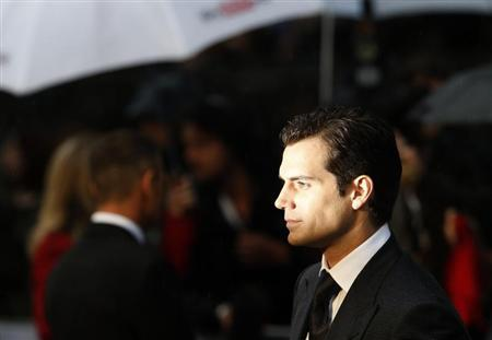 Actor Henry Cavill arrives at the European Premiere of ''Man of Steel'' at a cinema in Leicester Square, central London, June 12, 2013. REUTERS/Eddie Keogh