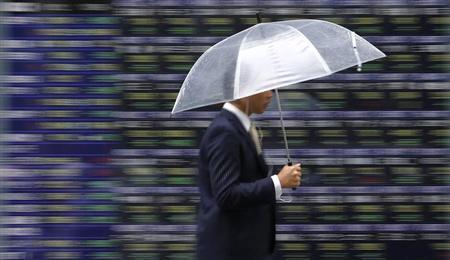 6月19日、今回の米連邦公開市場委員会(FOMC)では、市場の不透明感を払しょくできるかがポイントになる。都内で12日撮影(2013年 ロイター/Toru Hanai)