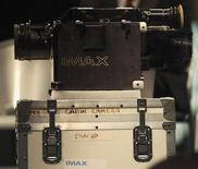 A close up of one of two IMAX cameras is seen at the Smithsonian National Air and Space Museum in Washington April 4, 2012. REUTERS/Gary Cameron