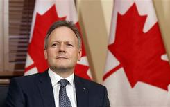 New Bank of Canada Governor Stephen Poloz sits in Canada's Prime Minister Stephen Harper's Langevin Block office in Ottawa in this June 3, 2013, file photo. REUTERS/Chris Wattie/Files