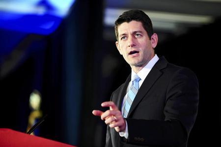 Representative Paul Ryan (R-WI) attends the Faith and Freedom Coalition Road to Majority Conference in Washington, June 14, 2013. REUTERS/Mary F. Calvert