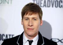 """Screenwriter Dustin Lance Black arrives at """"The Advocate 45th"""", celebrating the magazine's 45 years of publication in Beverly Hills, California March 29, 2012. REUTERS/Gus Ruelas"""