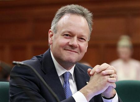 Bank of Canada Governor Stephen Poloz prepares to speak before a parliamentary committee on Parliament Hill in Ottawa June 6, 2013. REUTERS/Blair Gable