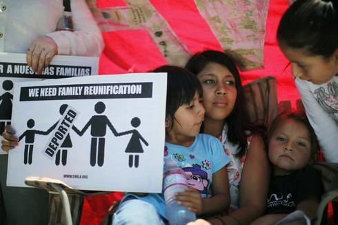 Immigration vigil