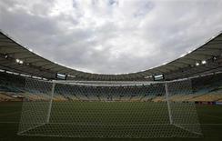 Estádio do Maracanã, que receberá a final da Copa dos Confederações no domingo entre Brasil e Espanha. 15/06/2013 REUTERS/Sergio Moraes