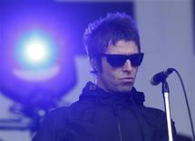 Liam Gallagher performs with his band Beady Eye during the Glastonbury music festival at Worthy Farm in Somerset, June 28, 2013. REUTERS/Olivia Harris
