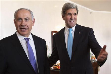 Kerry steps up shuttle talks with Abbas and Netanyahu