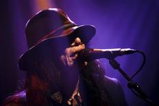 U.S. folk singer Sixto Rodriguez performs during the first night of the 47th Montreux Jazz Festival July 4, 2013. REUTERS/Valentin Flauraud