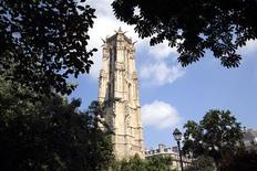 General view of the Tour Saint-Jacques in Paris July 5, 2013. REUTERS/Philippe Wojazer