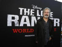 "Director of the movie Gore Verbinski poses at the world premiere of ""The Lone Ranger"" at Disney California Adventure Park in Anaheim, California June 22, 2013. REUTERS/Mario Anzuoni"
