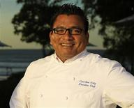 Chef Cupertino Ortiz is pictured at Mukul resort in Nicaragua, in this handout photo taken in May 2013, courtesy of Elena de Sojo. Reuters