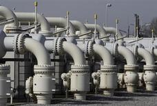 La compagnie pétrolière publique azérie Socar et le britannique BP auront chacun une participation de 20%, et Total une part de 10%, dans le gazoduc transadriatique (TAP). /Photo d'archives/REUTERS/Heinz-Peter Bader