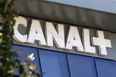 La chaîne payante française Canal+ (groupe Vivendi) porte plainte contre sa rivale qatarie BeIN Sport pour concurrence déloyale, selon le site internet de BFM Business. /Photo d'archives/REUTERS/Charles Platiau