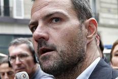 L'ancien trader Jérôme Kerviel a déposé plainte le 10 juillet avec constitution de partie civile contre la Société générale pour escroquerie au jugement. /Photo prise le 4 juillet 2013/REUTERS/Charles Platiau