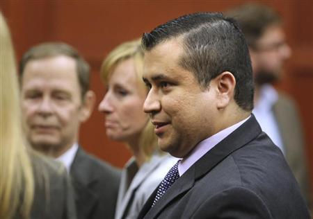 George Zimmerman leaves the courtroom a free man after being found not guilty in the 2012 shooting death of Trayvon Martin at the Seminole County Criminal Justice Center in Sanford, Florida, July 13, 2013. REUTERS/Joe Burbank/Pool