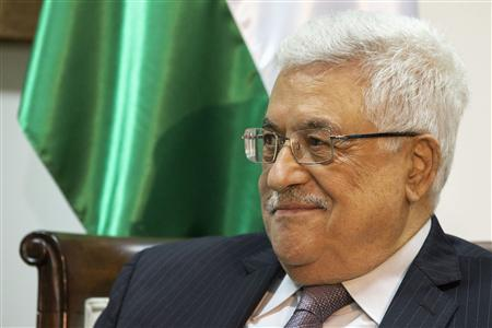 Palestinian President Mahmoud Abbas attends his third meeting with U.S. Secretary of State John Kerry (not pictured) in the West Bank town of Ramallah June 30, 2013. REUTERS/Jacquelyn Martin/Pool