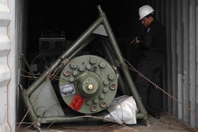 North Korean weapons ship