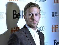 """Actor Ryan Gosling poses at the gala presentation for the film """"The Place Beyond The Pines"""" at the 37th Toronto International Film Festival in this file photo taken September 7, 2012. REUTERS/Mike Cassese/Files"""