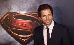 "Director Zack Snyder poses for pictures after his arrival to the Australian premiere of ""Man of Steel"" in central Sydney June 24, 2013. REUTERS/Daniel Munoz"
