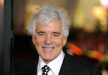 """Actor Dennis Farina arrives at the Hollywood premiere of the HBO series """"Luck"""" in Los Angeles, California January 25, 2012. REUTERS/Gus Ruelas"""