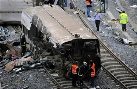 Driver in custody after 80 killed in Spain train crash - Reuters