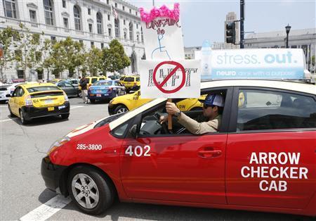 Ride-sharing companies may lose 'bandit cab' stigma in