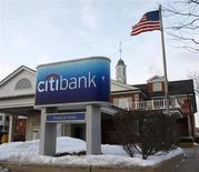 The Citibank logo is seen in Arlington Heights, Illinois February 3, 2009. REUTERS/John Gress