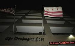 The exterior of the Washington Post newspaper building is seen in Washington August 5, 2013. REUTERS/Gary Cameron