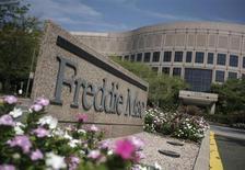 Freddie Mac, le géant américain du refinancement des prêts immobiliers contrôlé par l'Etat fédéral, annonce un bénéfice de 5,0 milliards de dollars (3,76 milliards d'euros), le deuxième plus important de son histoire. /Photo d'archives/REUTERS/Jason Reed