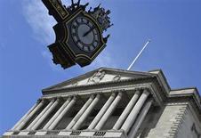 Imagen de la sede del Banco de Inglaterra en Londres. Agosto 7, 2013. REUTERS/Toby Melville