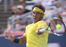 O espanhol Rafael Nadal venceu Jesse Levine no Masters de Montreal nesta quarta-feira. REUTERS/Christinne Muschi