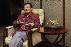 Rudi Rubiandini, head of Indonesian energy regulator SKKMigas, speaks during an interview with Reuters at his office in Jakarta in this March 6, 2013 file photo. REUTERS/Enny Nuraheni/Files