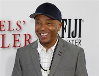 """Russell Simmons arrives as a guest to the premiere of the new film """"Lee Daniels' The Butler"""" in Los Angeles, California August 12, 2013 file photo. REUTERS/Fred Prouser"""