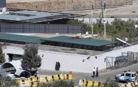 A general view of the British embassy in Sanaa January 5, 2010. REUTERS/Ahmed Jadallah