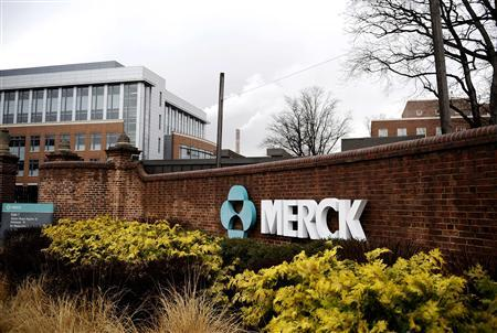 A view of the Merck & Co. campus in Linden, New Jersey in this file photo from March 9, 2009. REUTERS/Jeff Zelevansky/Files