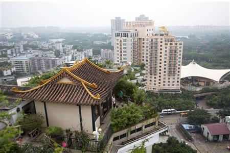 Illegal rooftop temple prompts unholy ire in Chinese city