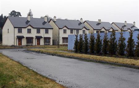 The Waterways, an empty and unsold housing development, is pictured in the village of Keshcarrigan, County Leitrim January 28, 2012. REUTERS/Cathal McNaughton