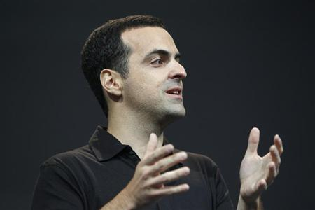Hugo Barra, director of product management of Google, speaks during Google I/O 2012 Conference at Moscone Center in San Francisco, California June 27, 2012. REUTERS/Stephen Lam