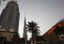 A general view of Burj Khalifa (C), the world's tallest tower, and Dubai mall April 12, 2013. REUTERS/Ahmed Jadallah