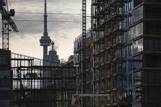 Construction workers work on a condominium development in Toronto December 6, 2012. REUTERS/Mark Blinch