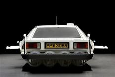 """The 007 Lotus Esprit 'Submarine Car', used in the James Bond movie """"The Spy Who Loved Me"""" is pictured in this undated handout photo. REUTERS/Tim Scott © 2013 Courtesy of RM Auctions/Handout"""
