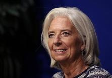 """International Monetary Fund (IMF) Managing Director Christine Lagarde attends the conference """"Designing a European fiscal union"""" in Paris, September 10, 2013. REUTERS/Jacky Naegelen"""