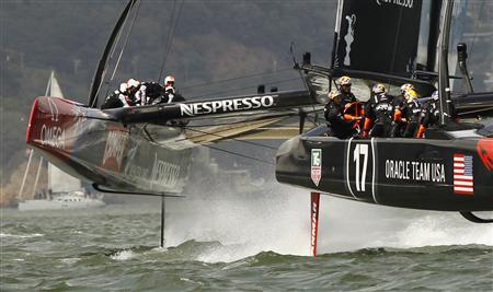 Oracle calls time out in America's Cup after Kiwi trouncing
