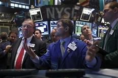 Traders work on the floor of the New York Stock Exchange August 28, 2013. REUTERS/Brendan McDermid